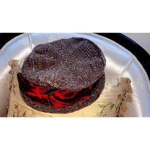 Vintage Crochet Kate Sheckler Winter Hat
